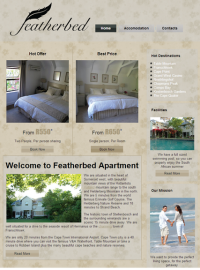 Featherbed comfortable stay